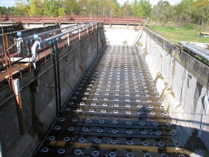 Аэрация прудов, водохранилищ и водоочистных сооружений
